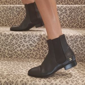 Chanel Booties Like New Condition